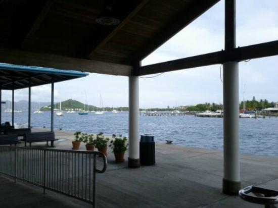 Virgin Islands Ferry - Red Hook: Red Hook Ferry terminal on St. Thomas