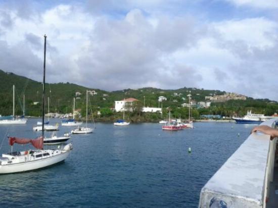 Virgin Islands Ferry - Red Hook: Going to St. John