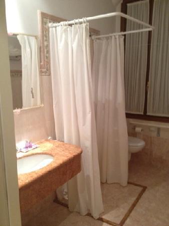 Hotel San Luca: this is a bathroom?