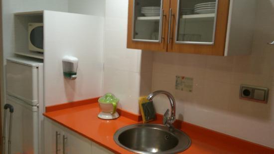 Aparthotel Bahia: cocina