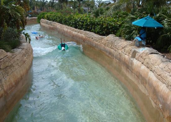 Comfort Suites Paradise Island : The Current Ride at Atlantis
