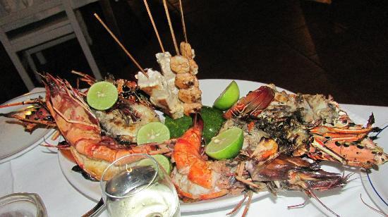 The Pily Pily Restaurant : MENU' DI CROSTACEI