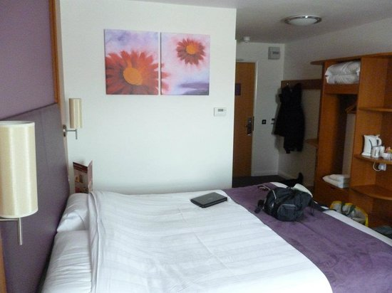 Premier Inn Weymouth Seafront Hotel: our room