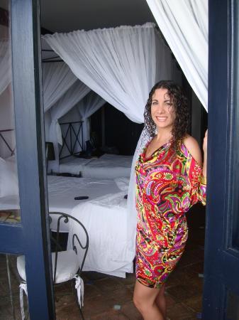 La Samanna de Margarita: Detalle de nuestra impecable habitación vista desde el balcón.
