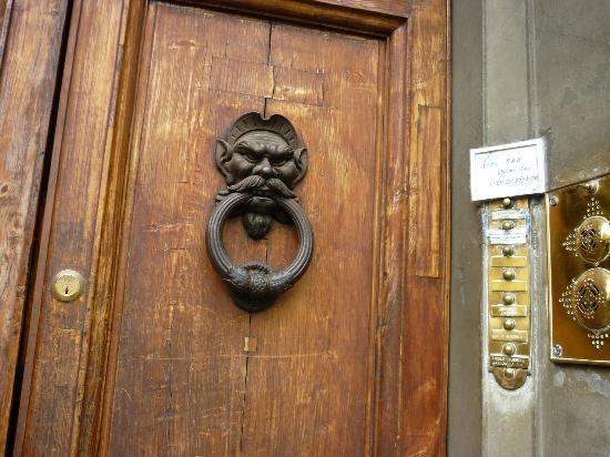 Duomo View B&B: Front Door