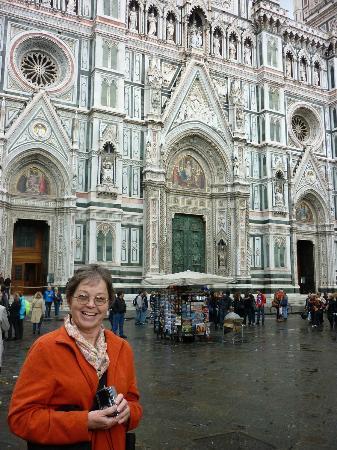 Duomo View B&B: view outside the door