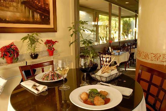 Bistro Casanova's smooth interior and awsome food.