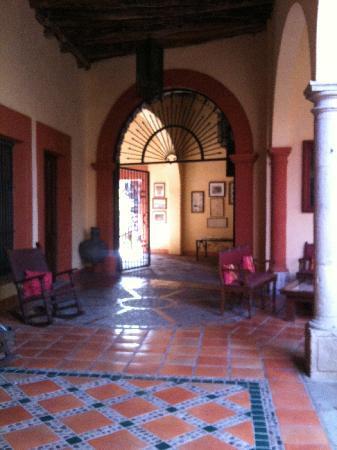 El Fuerte, México: One of the corridors