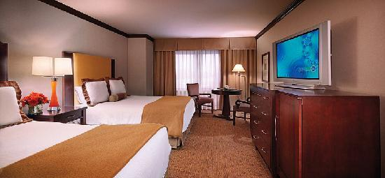 Ameristar Casino Hotel Kansas City: Hotel Double Queen Room
