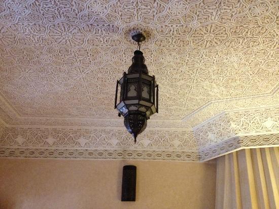 Riad Sidi Fatah : Ornate plasterwork
