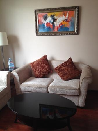 Huabin International Hotel: seating
