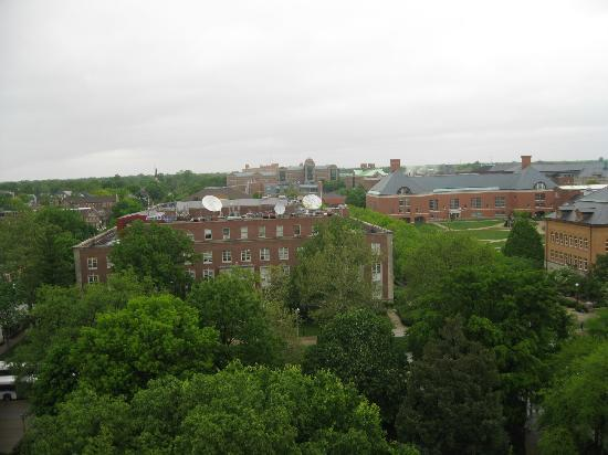 Altgeld Hall Tower: The view from the top