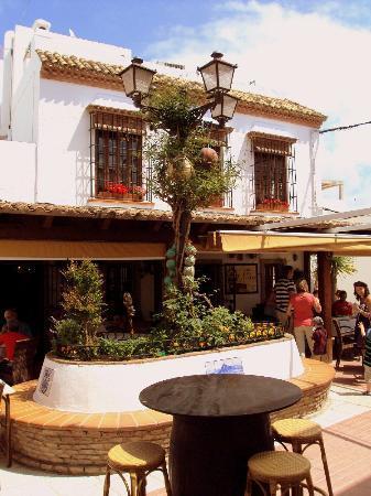 Vista Del Restaurante Casa Juanito Y Su Terraza Picture
