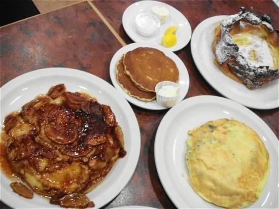 The Original Pancake House: 代表トリオ(^O^)/