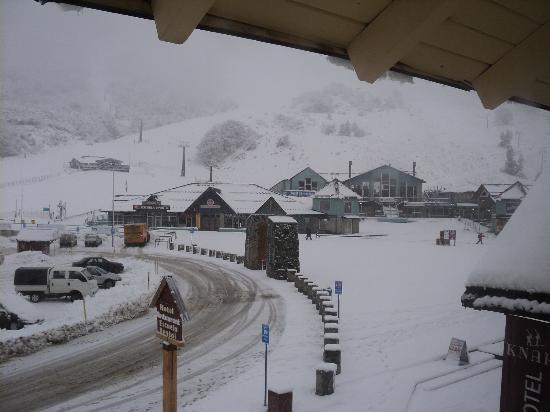 Knapp Legendary Ski Hotel: vista desde la habitacion