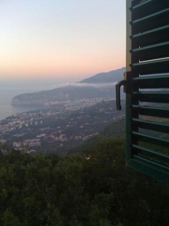 Villa Romita: Lazy hazy warm evening.