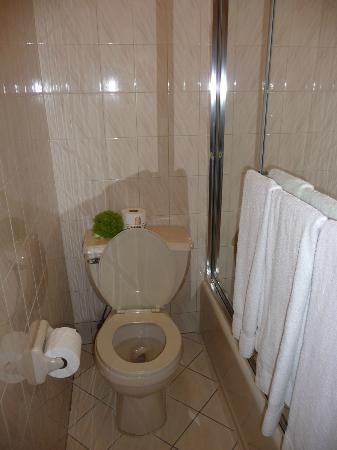 Travel Inn Hotel New York: Chambre de bain