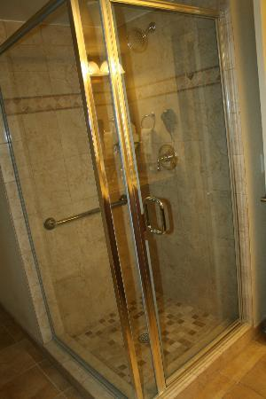 Plantation Beach Club at Indian River: Shower stall