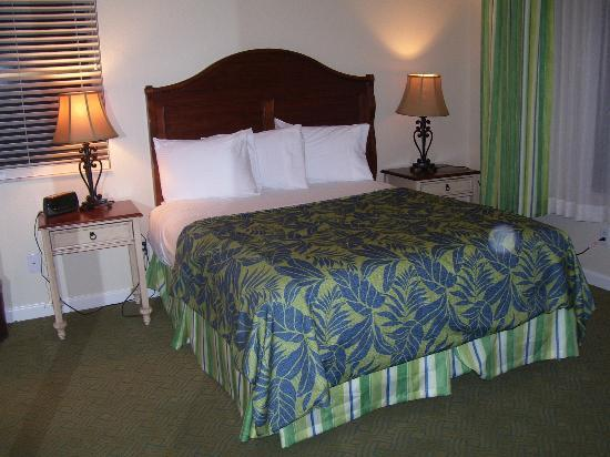 Plantation Beach Club at Indian River: Master bedroom, two bedroom
