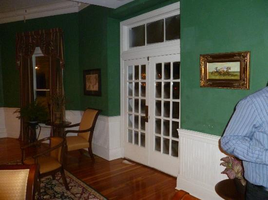 The Green Park Inn: front room