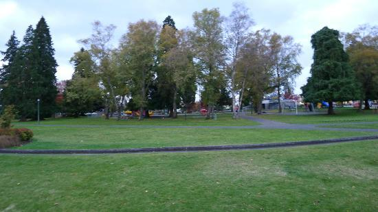 Taupo city park area