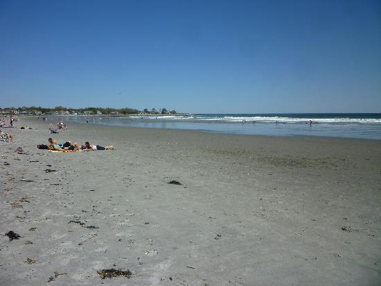 Jenness State Beach: the beach
