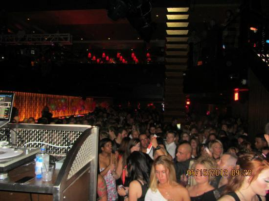 Great Cedar Hotel at Foxwoods: DJ booth at Shrine Nightclub