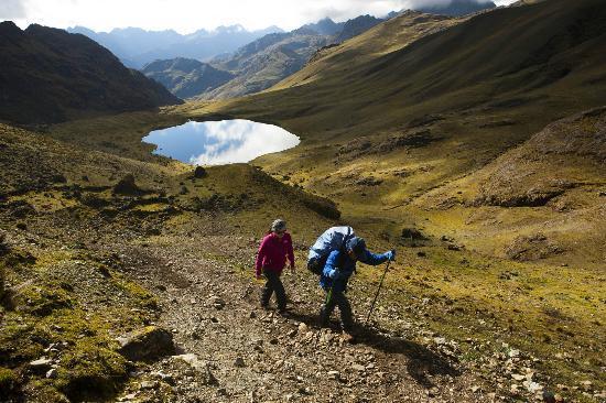 Intense Peru: Iniciando el ultimo ascenso