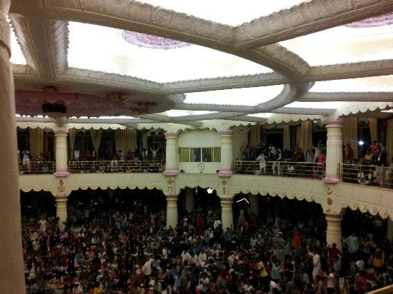 Art of Living International Center: Vishalakshi Mandap - inside