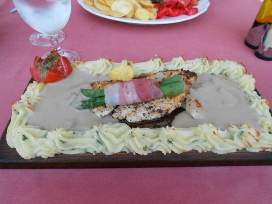 Restaurante Bacchus : Plankstek