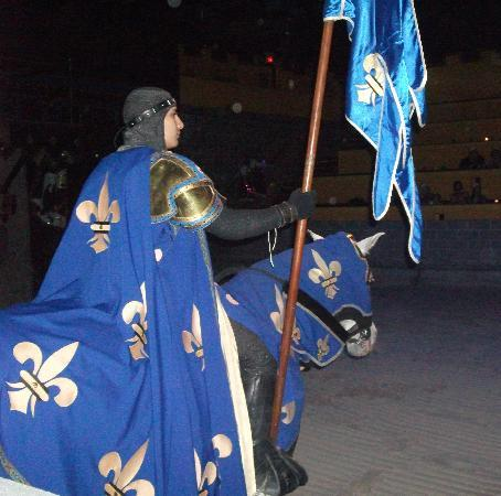 The Blue Knight Picture Of Medieval Times Dinner