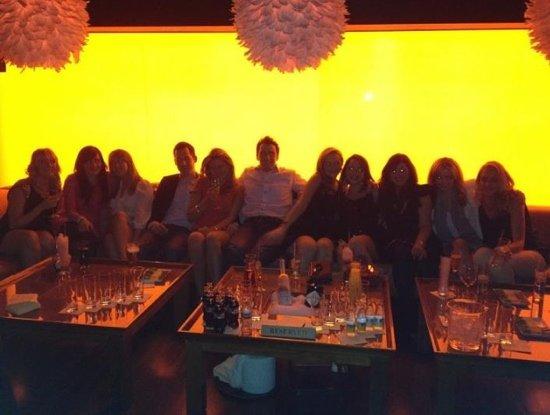 Panacea: Enjoying the VIP area