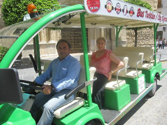 Electric Micro Tourist Bus Antequera : A Must if you Visit Antequera