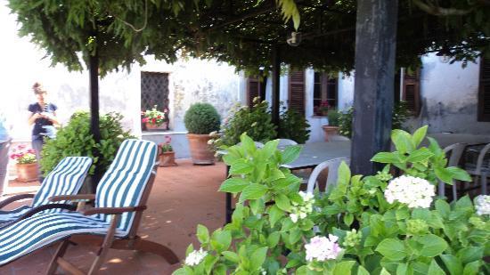La Vecchia Loggia: the terrace