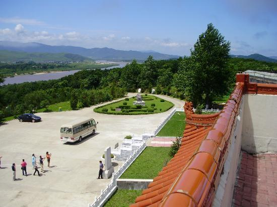 Fangchuan National Scenic Resort: Пограничный пост