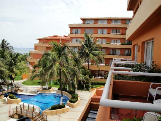 Fiesta Americana Veracruz: Balcony view
