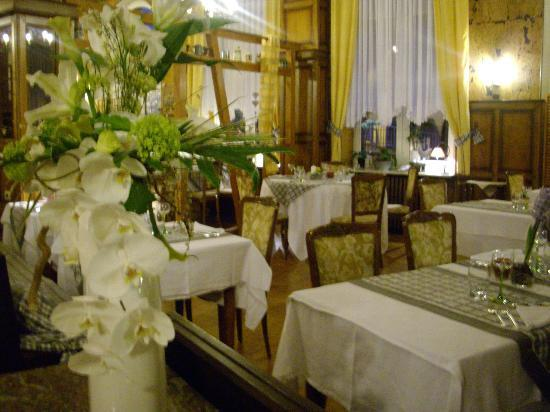 Restaurant des Vosges : la salle du restaurant