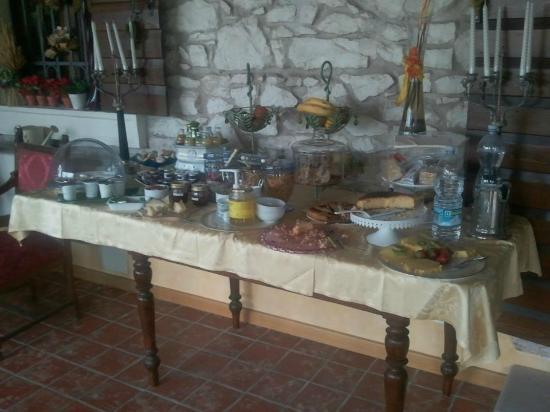 Villa Gesi: Breakfast