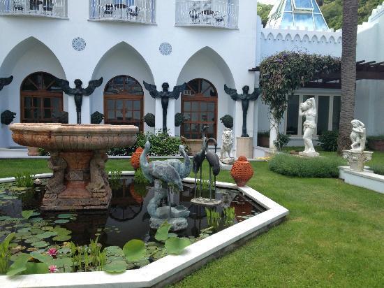 Terme Manzi Hotel & Spa: Giardino