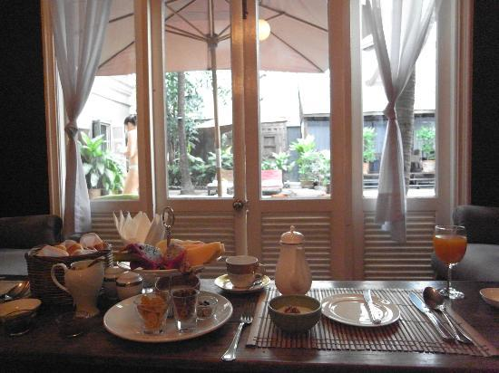Asia Herb Association Spa Auberge Eugenia: breakfast