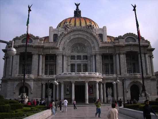 Mexico City, Meksika: Palacio de Bellas Artes