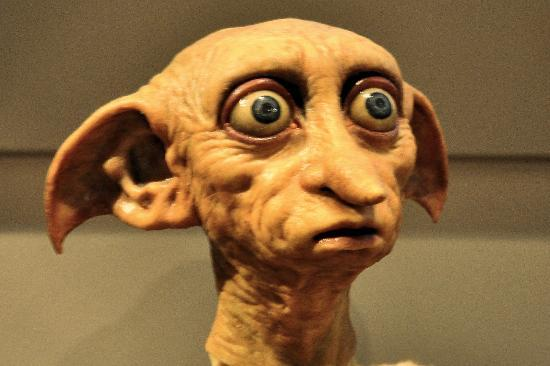 dobby the house elf   picture of warner bros studio tour