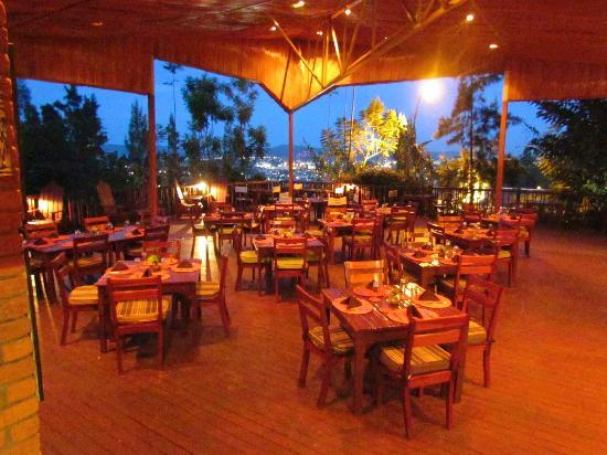 Heaven Restaurant & Boutique Hotel: Heaven Restaurant's terrace
