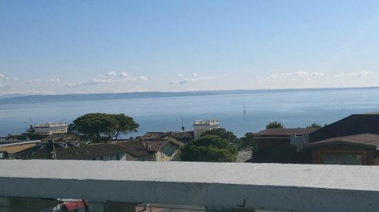 Residence Hotel Hungaria: vista mare