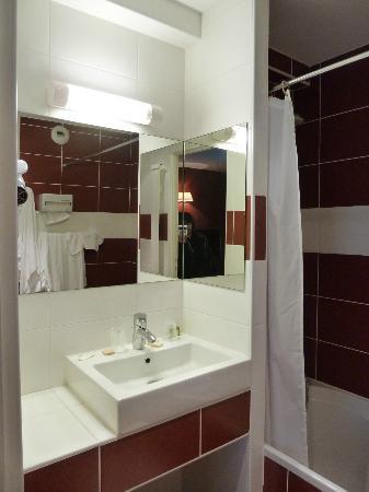 Le Christina : bagno con vasca camera superior