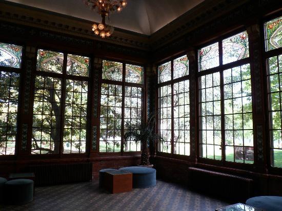 Institut & Musee Lumiere: der Wintergarten