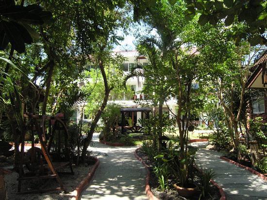 Kirati Beach Resort: Garden