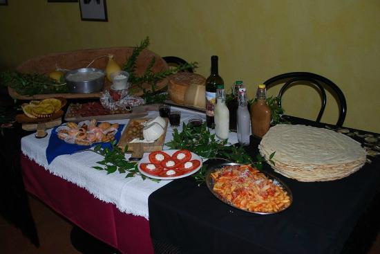 Agriturismo Gulunie: cucina tipica sarda