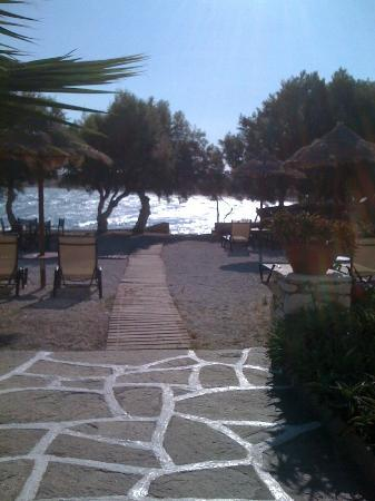 Kalypso Hotel & Apartments: View from breakfast table