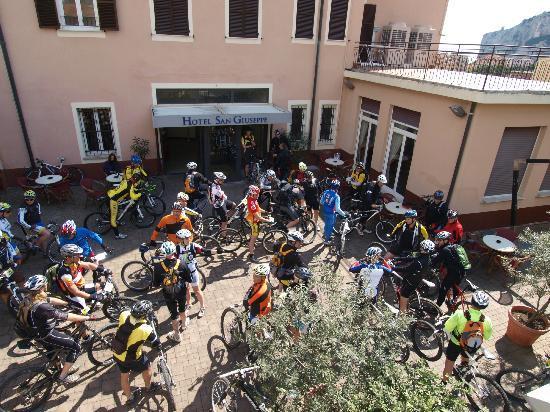 Hotel San Giuseppe: foto degli escursionisti